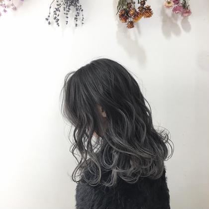 エリア人気No.1美容室Ash二子玉川のセミロングのヘアスタイル