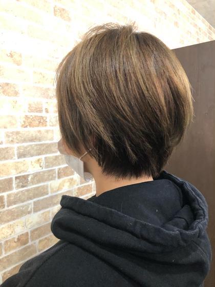 🌈髪質改善💁🏼♀️ハホニコストレートパーマ🌈&似合わせカット+極ツヤTR⭐️【1月minimo限定メニュー】