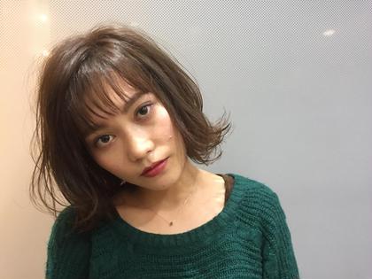 大好評のマットアッシュカラー Ash中目黒店所属・榊間茜のスタイル