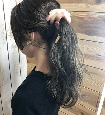 ▷▷外国人風アディクシーカラー◁◁ジェミールフラントリートメント+ナノスチーム✨/前髪カット付
