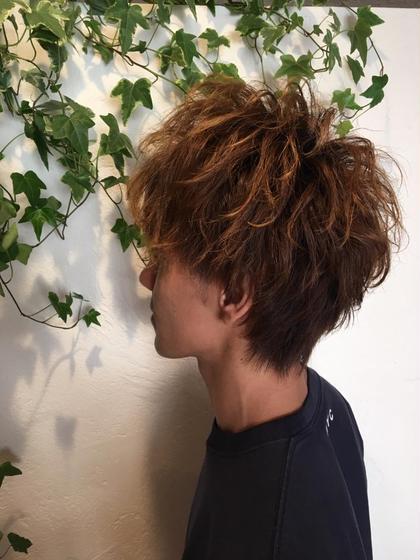 出すとこは出して、しめる所はしめて、メリハリをつけたパーマスタイル! Hair&Make CheriCherie所属・井上真利のスタイル