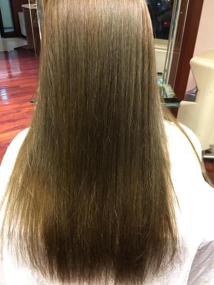 メルティングアッシュ   矯正毛でも透明感のある髪を(画像加工なし)  L.A.1st所属・宮下拓也のスタイル