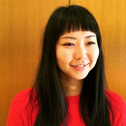 オンザ眉毛の前髪がポイントです。 b.所属・斉川康朗のスタイル