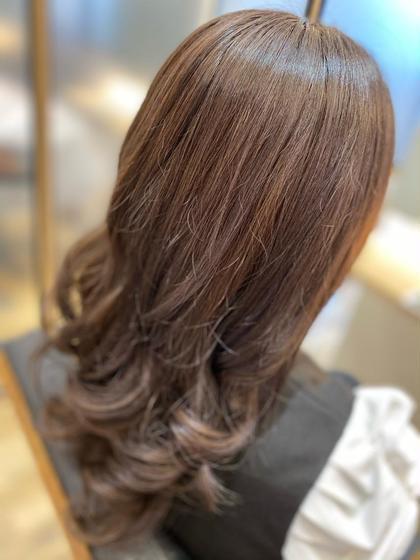 《PORT店限定》透明感ワンカラー&カット&髪質改善トリートメント