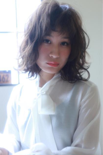 カラー ショート セミロング パーマ ヘアアレンジ ミディアム ロング ミディアムパーマスタイル!