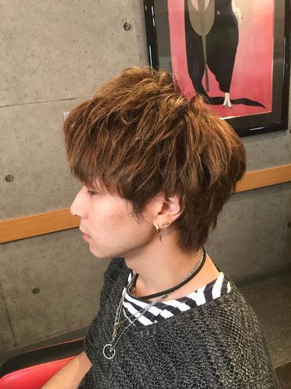 今流行りのゆるふわメンズ♫ Cyan hair labo所属・石井彰浩のスタイル