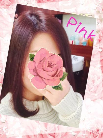 春を♯マーキュリーピンク♯ ClaudeMONET  H2O AVEDA 東京TOKIA店所属・鈴木章司のスタイル