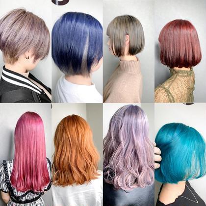 ⭐️超透明感⭐️フルブリーチ⭐️➕⭐️カラー(N.、イルミナ、アディクシー、etc)⭐️豊富な薬剤でなりたい髪色に⭐️