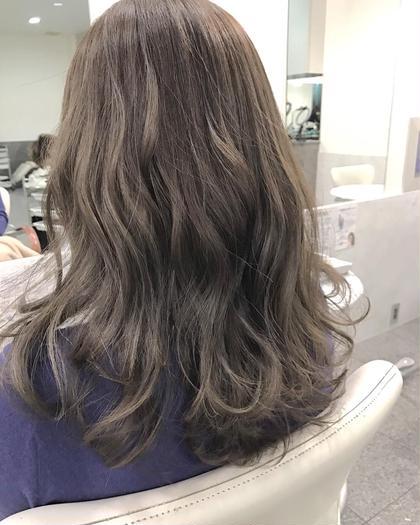 大人気✨前髪カット+ケアカラー