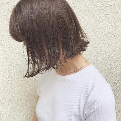 【相乗効果】髪再生イルミナカラー&色持ち最高イルミナTR&カット