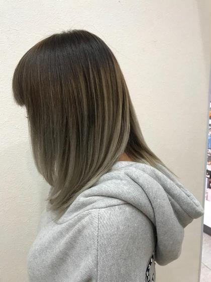 毛先整えて顔周りにレイヤーを(*´-`)内巻きになるように☺︎トリートメントしてサラサラです♡ 茂木 恵里香のミディアムのヘアスタイル