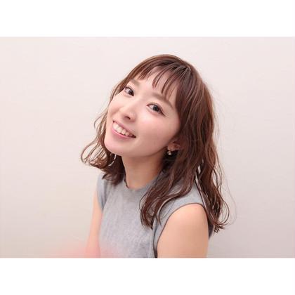切りっぱなしボブ×オン眉 Lycka上飯田所属・内田千晶のスタイル