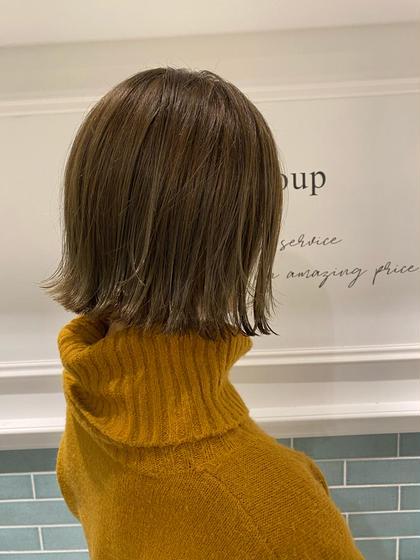🌟超お得何度でも🌈人気NO.1⭐️イルミナカラーよりもダメージレスN.カラー&カット&髪質補修集中トリートメント✨