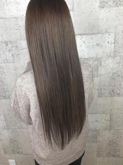 🌟自粛期間中に綺麗に🌟縮毛矯正+ブロー+トリートメント 6980
