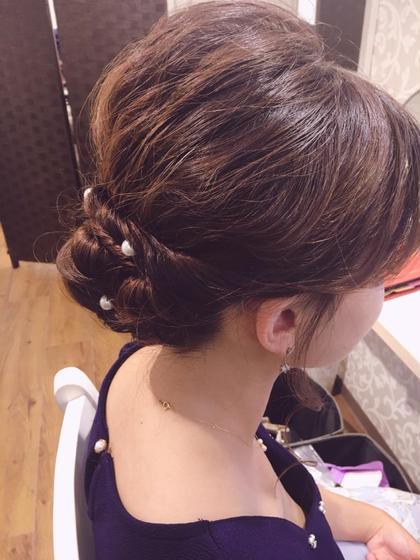 藤丸野乃香のセミロングのヘアスタイル