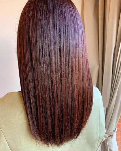 小顔カット+カラー+髪質改善超艶トリートメント