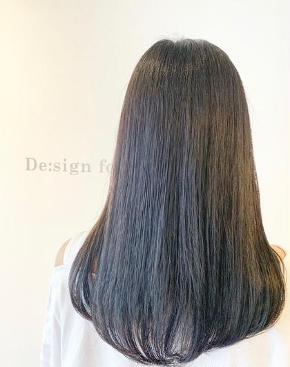 【プレミアムカラー】  黒染めなしの就活応援カラー📣✨ De:sign for Hair所属・いしざきのぞみのスタイル