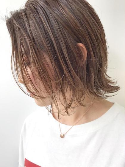 【新規+平日限定】半額クーポン カット&ハイライト インナーカラー 🌿