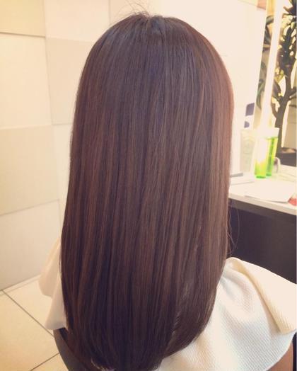 ツヤ出しカラーで傷んでた髪もツヤツヤに!✨ STYLEbeauty&cosmetics所属・小笠原海人のスタイル