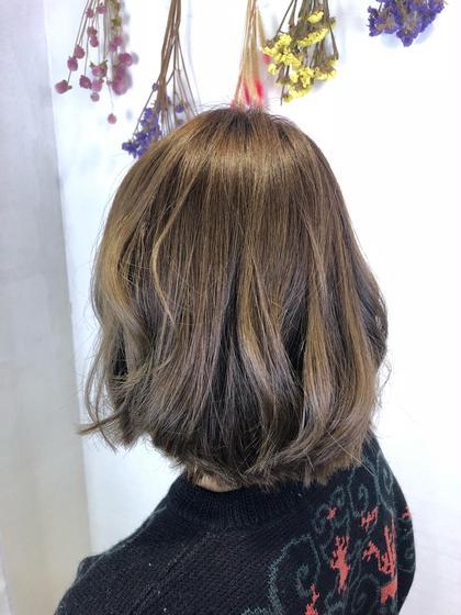 イルミナカラーでツヤと透明感のある髪に! NYNY守口店所属・廣畑昌志のスタイル