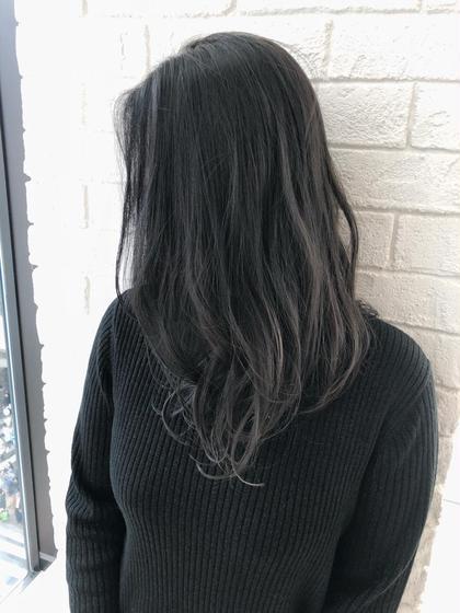 ハイトーンからの透明感カラーです♪ Krest茶屋町店所属・迫口智也のスタイル