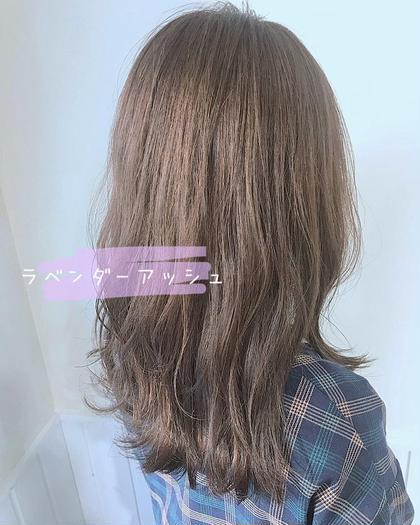 ❤️毛先カット& イルミナorアディクシーカラー&Aujuaヘッドスパ ¥7920