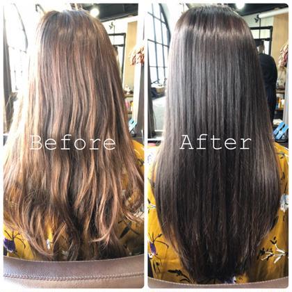 ダメージレス‼︎髪質改善カラー💜広がり、パサつき解消✨《サイエンスアクアカラー+高濃度炭酸スパ✨》