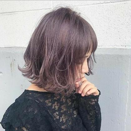 透明感がすてき 流行りのラベンダー FORTE GINZA所属・艶髪カラーリスト倉岡 詩音のスタイル