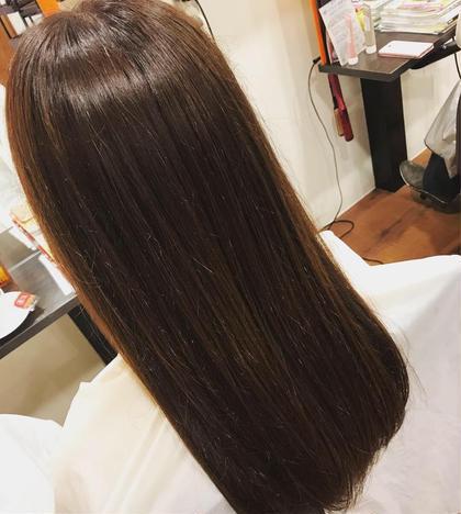💎毛穴のつまりを取って頭皮から綺麗に💎 ❤︎艶カラー➕炭酸ヘッドスパ➕毛先枝毛カット