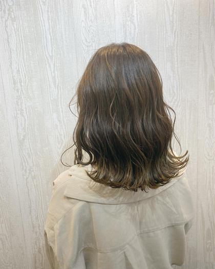 カット+カラー+3Stepトリートメント💛 (白髪染め可)