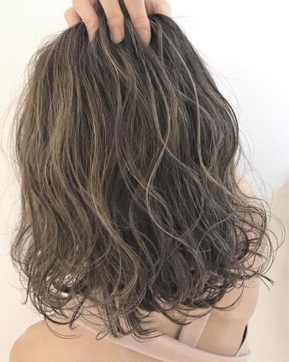 ナガカワコウヘイのミディアムのヘアスタイル