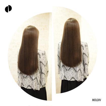 【夏限定】【最新版髪質改善】全員プレゼント✨トリートメントストレート4D+オージュアフルトリートメント