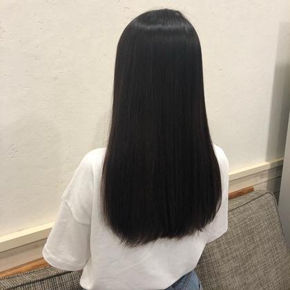 縮毛矯正でお悩み解決!  毎朝、アイロンのいらない髪へ❤︎❤︎❤︎  痛まないうるつやストレートです!! Neolivesing所属・寒河江舞奈のフォト
