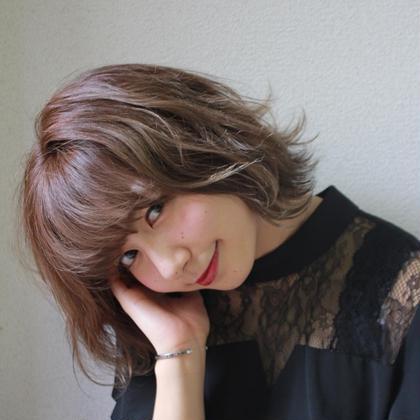 最新秋冬カラー(シャンプーブロー込み) ¥8000→¥4000【カラーのみの方はコチラ】