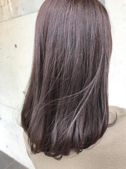 💫驚きのツヤ髪💫デザイナーズカット+ホリスティック縮毛強制  10800円