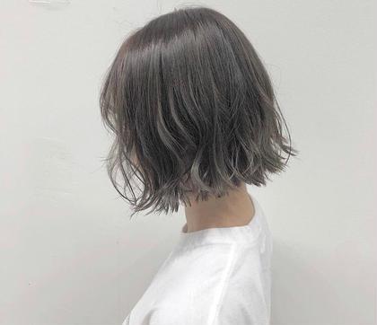 《艶髪》イルミナorアディクシーカラー+ハホニコトリートメント