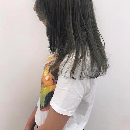 💕👱🏻♀️初回限定🧁💕【透明感ワンカラー】➕【似合わせカット】