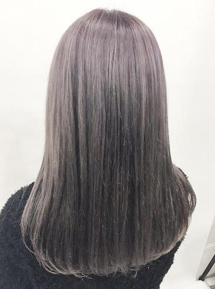 毛先カット+自然なストレートパーマ✨【まとまり・多毛抑制・ボリュームダウン・艶髪・巻きやすくなる・メンテナンス】