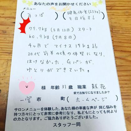 MIKIメディカルスタイル所属・後藤美樹のスタイル