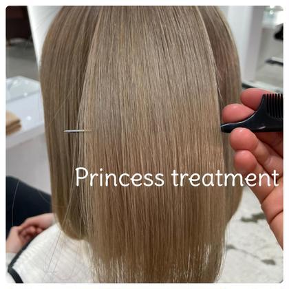・【究極の艶髪】プリンセストリートメント(韓国で大流行🇰🇷審査の厳しいアメリカでオーガニック認定)×デザインカット