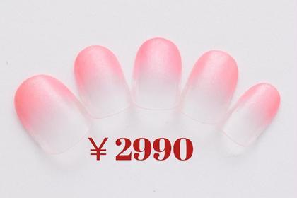 【ハンド】ジェル検証のため特別価格♪2990円デザイン(ワンカラーorカラグラ)→500円