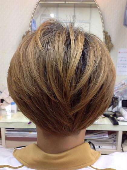 明るく染まる白髪染め ランジュドフジ所属・松岡辰弥のスタイル