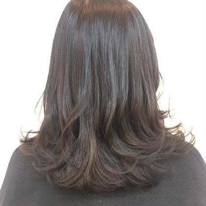 ✂︎カット+トリートメント【KERASTASE】髪質改善コース(シャンプー、ブロー込み)