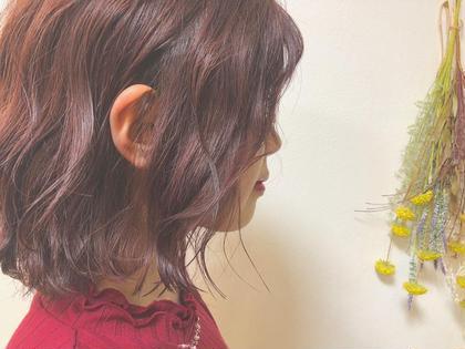 【似合わせ透明感カラー💕】× カット×艶トリートメント