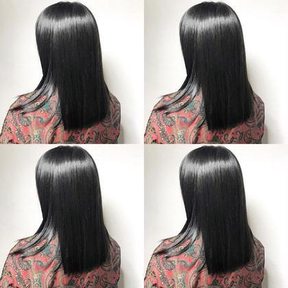 💘髪質改善縮毛矯正➕Cut➕ヒアルロン酸シャンプー➕3Step高補修トリートメント💘