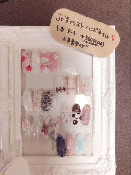 ネイル ハンドネイル♡♡アートサンプル♡♡ 秋~冬デザインです