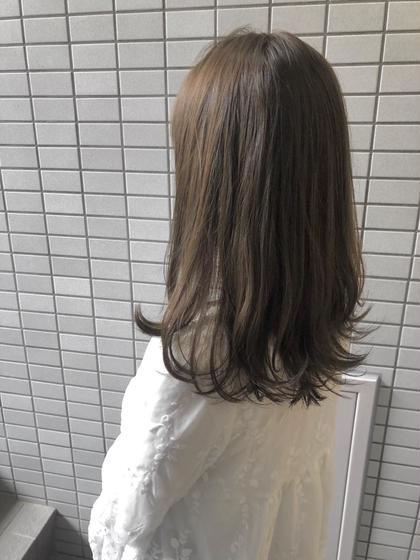 【 7月限定💓 】❤️透明感カラー+保湿トリートメント❤️(2回目のご来店+¥1000✨)