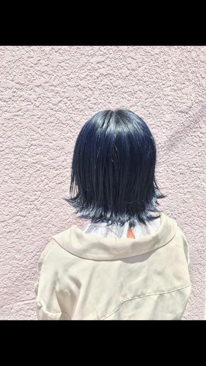【透け感にこだわるあなたに!ノーダメージカラー】  艶フルヘアカラー & トリートメント