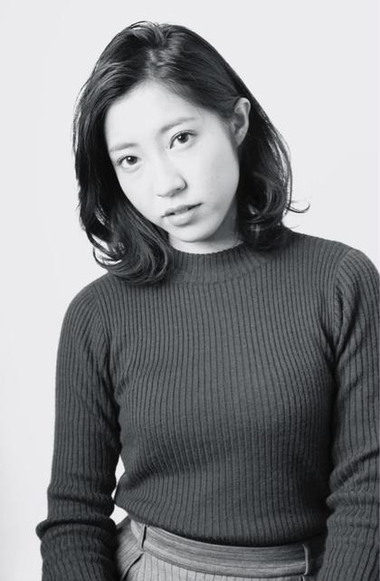 ミディアム。 STELLAR hair salon spa所属・大場優衣のスタイル