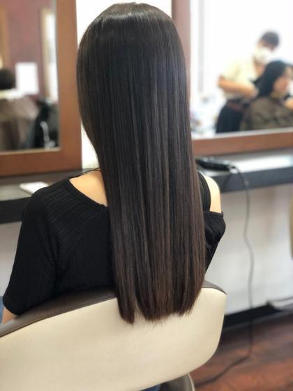 美髪コース🌈カット+髪質改善トリートメント+トリートメント🌈